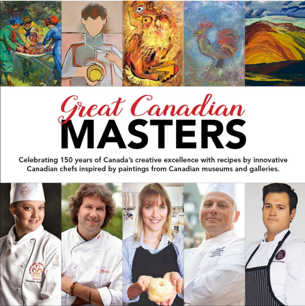Great Canadian Masters Cookbook, Vol 1