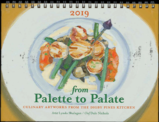 From Palette to Palate 2020 Calendar