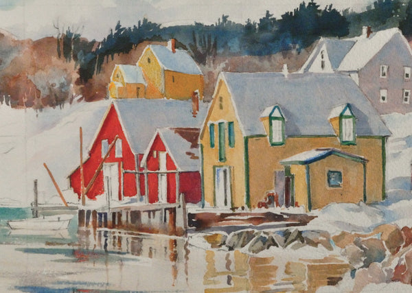 Greeting Card - Marguerite Zwicker, Untitled [Coastal Houses]