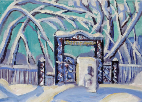 Greeting Card - LeRoy Zwicker, Gates