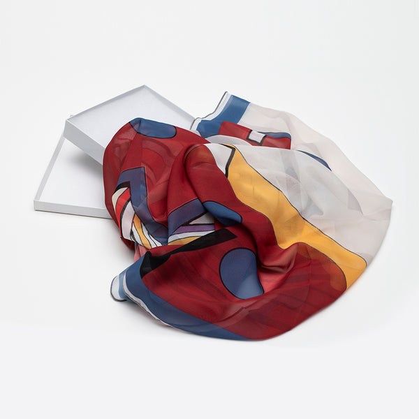 The Jordan Bennett Collection - Scarves