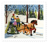 Maud Lewis Canada Post Stamps