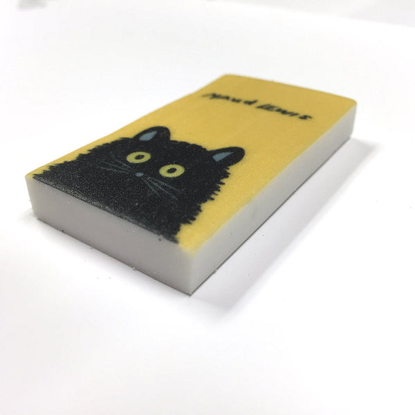 Maud Lewis Eraser Black Cat