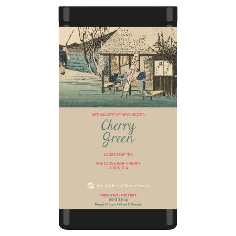 Cherry Green Hiroshige Tea Blend