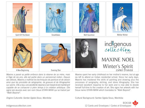 Holiday Box Set Note Cards - Indigenous Collection by CAP