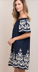 Emma Embroidery Detail Dress