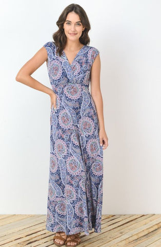 Perfectly Paisley Maxi Dress