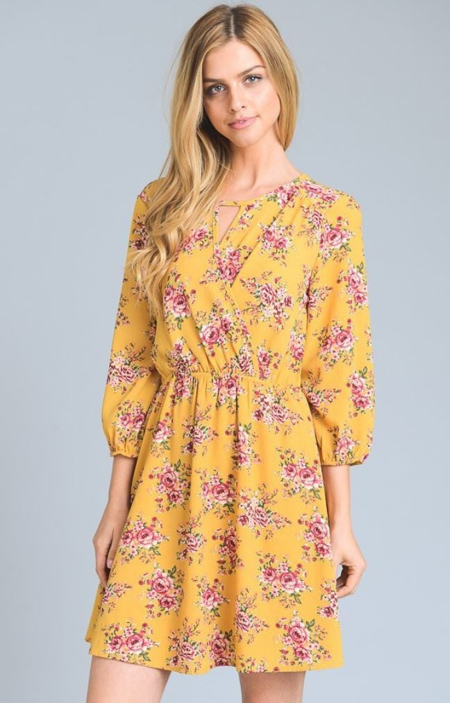 Floral and Fancy-Free Dress
