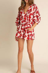 Floral, Floral Everywhere Romper