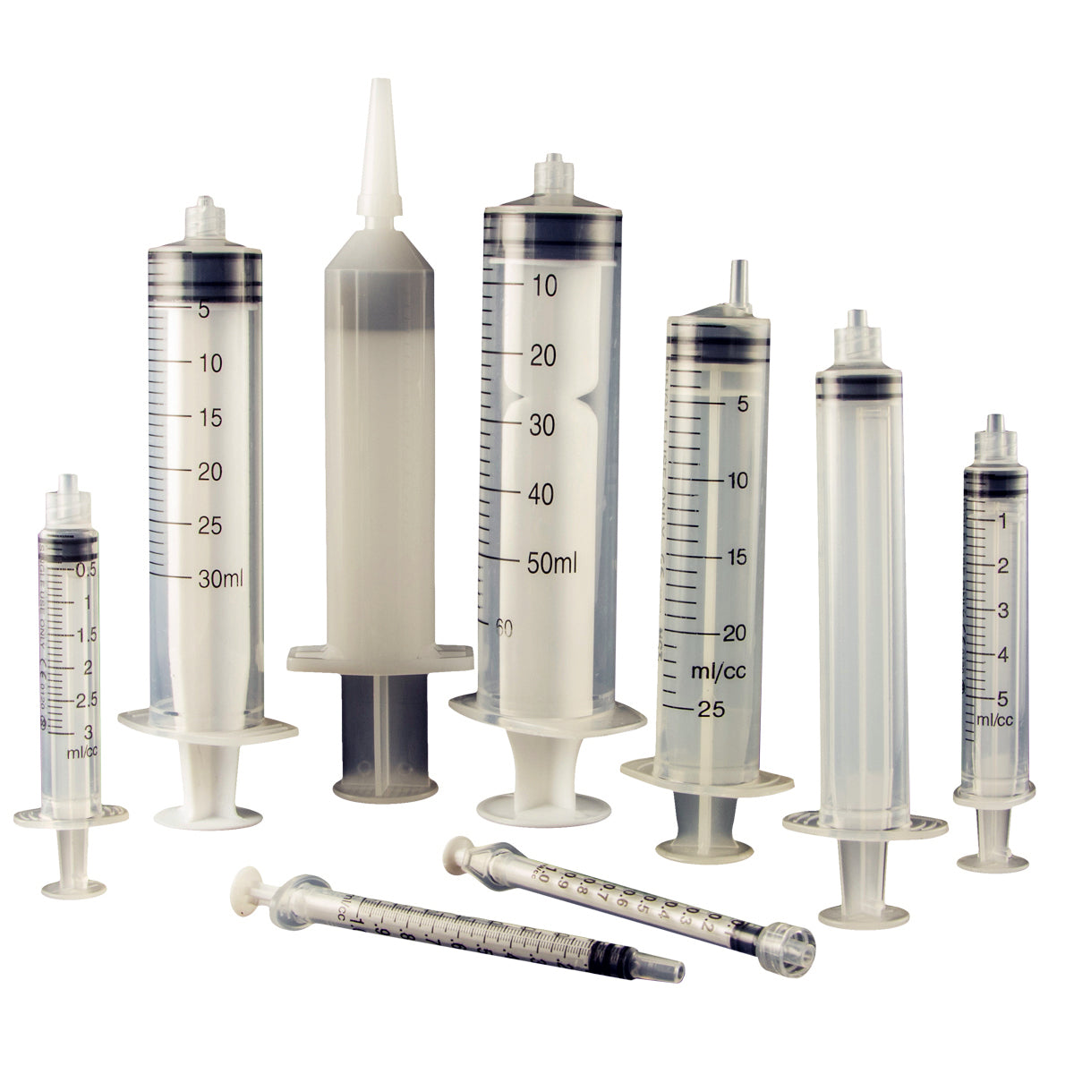 Assembled Manual Syringes