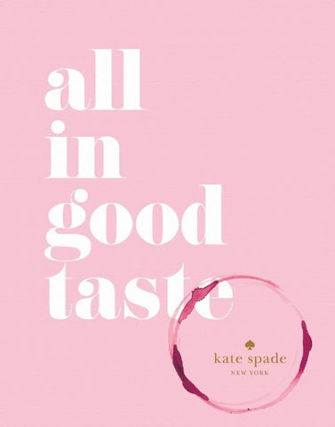 Coffee Table Book | All In Good Taste | Kate Spade