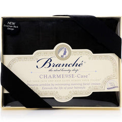 Branché | Charmeuse Silk Pillow Case | Black