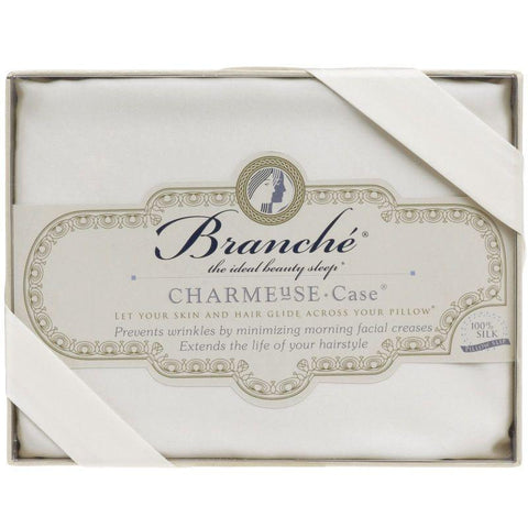 Branché | Charmeuse Silk Pillow Case | Cream