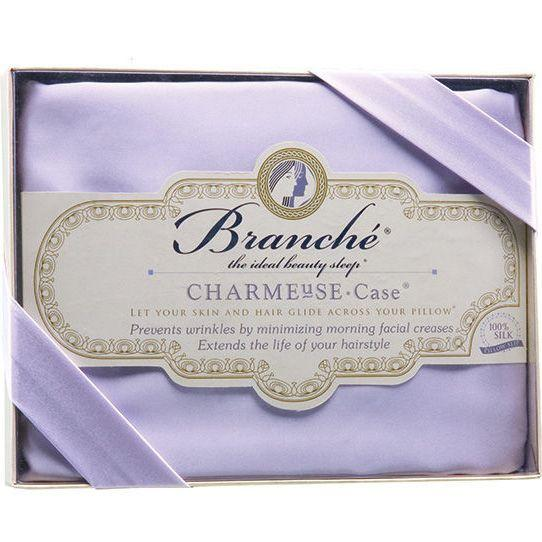 Branché | Charmeuse Silk Pillow Case | Lavender