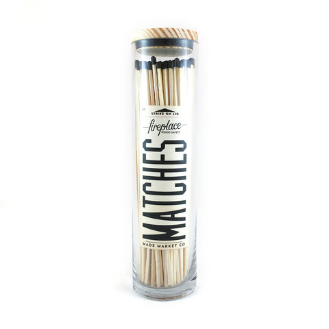 Made Market Co. | Fireplace Matches | Black