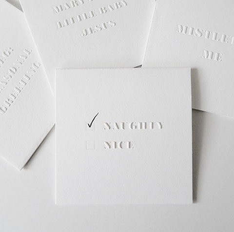 LoweCo. | Naughty/Nice card