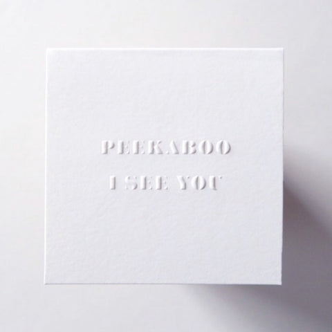 LoweCo. | Peekaboo card