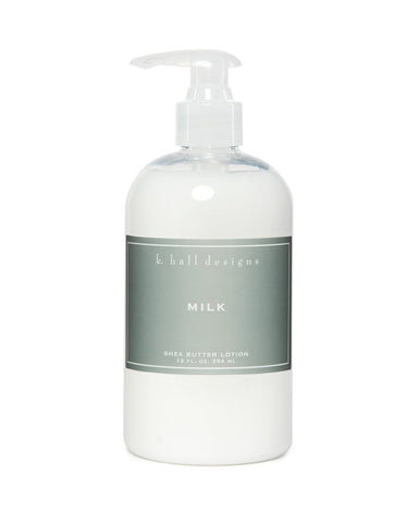 K. Hall | Milk | Shea Butter Lotion