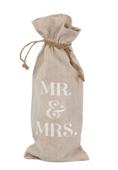 Wine Bag | Mr. & Mrs.