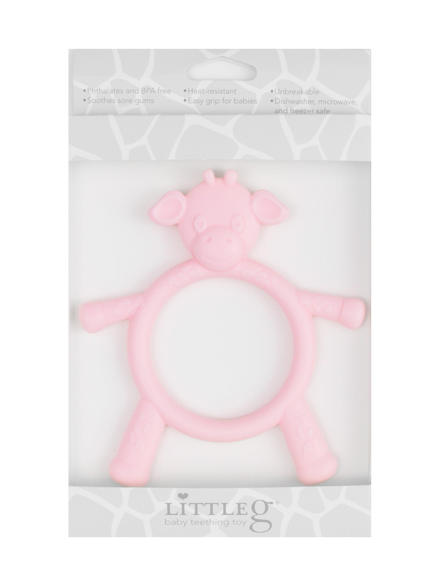 Little Giraffe | Little G™ Teething Toy | Pink