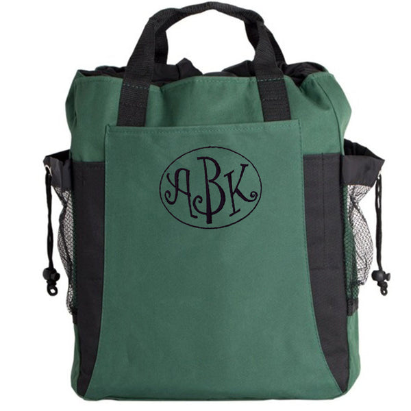 Personalized Canvas Tote Backpack