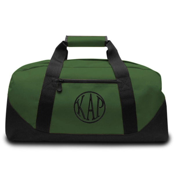 Personalized Canvas Duffel Bag
