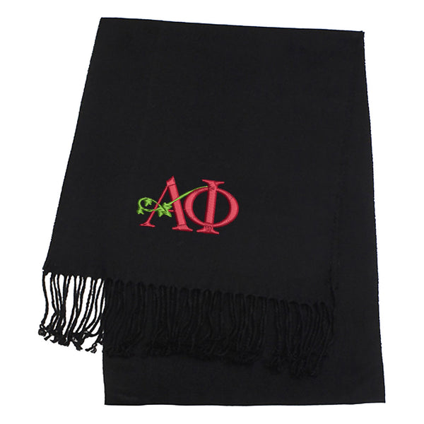 Sorority Logo Cashmere Feel Scarves
