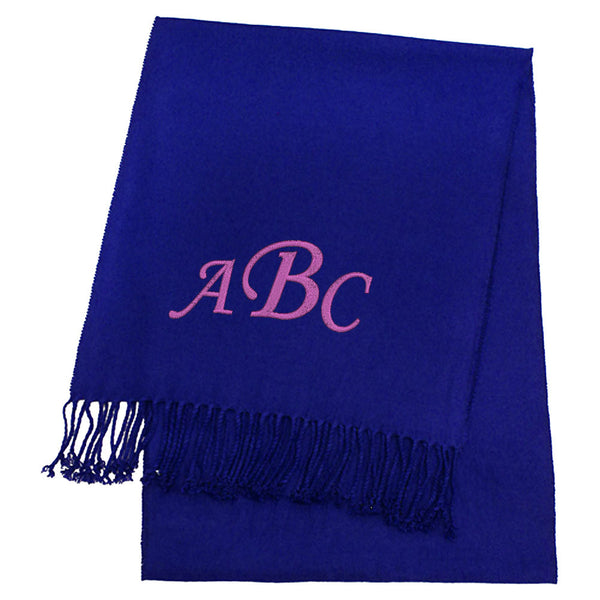 Personalized Cashmere Feel Solid Color Scarves