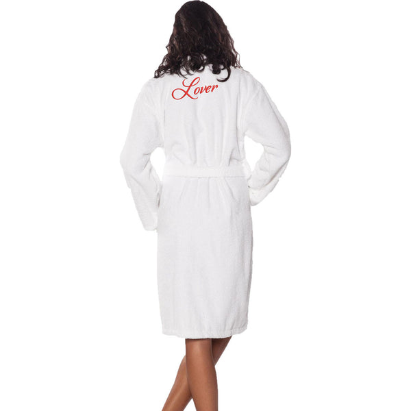 Personalized Embroidered Terry Robe