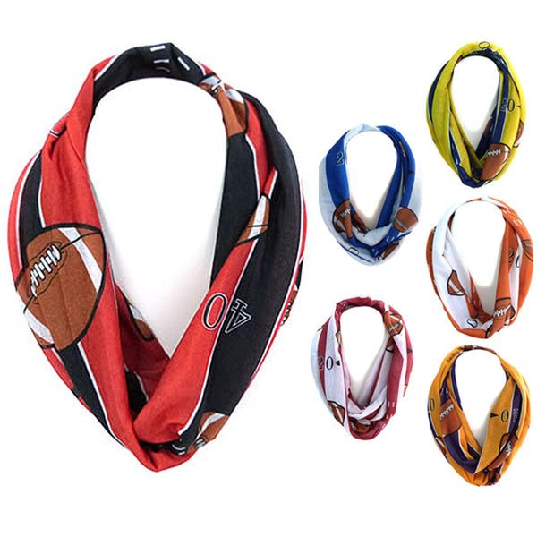 Football Infinity Scarves