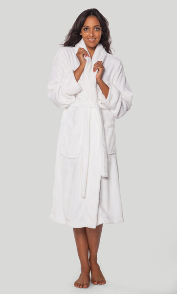 Premium Personalized Embroidered Fleece Robe
