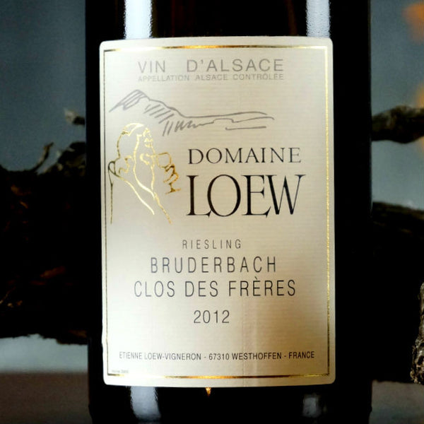 DOMAINE LOEW RIESLING BRUDERBACH CLOS DES FRERES 2012