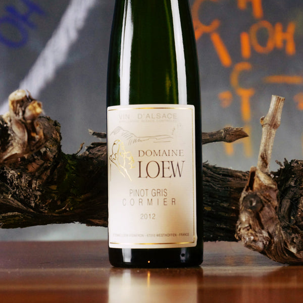 DOMAINE LOEW PINOT GRIS CORMIER 2012