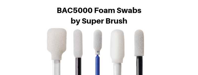 BAC5000 Foam Swabs by Super Brush