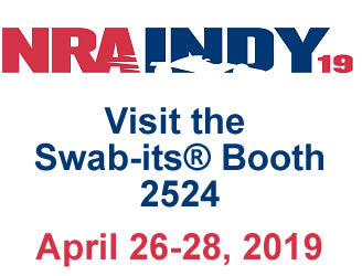 Come see Swab-its® at the NRA 19 Annual Meetings