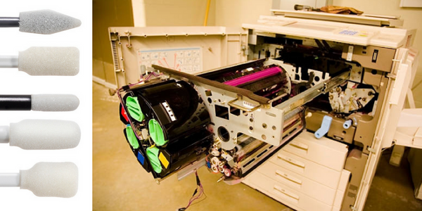 How to Clean a Wide-Format Printer with Swab-its