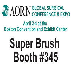 Super Brush Features Foam Swab Applications at AORN 2017