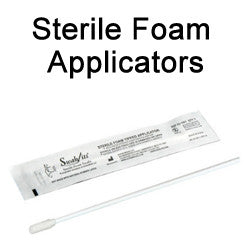 "Swab-its® 53-1001 - 6"" Premium Sterile Foam Tipped Applicators"