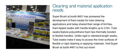 Stop by Super Brush LLC's Booth at Foam Expo to Learn About Our Foam Swab Technology