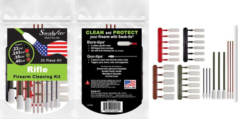 Swab-its® Announces the Global Launch of Three New Firearm Cleaning Kits