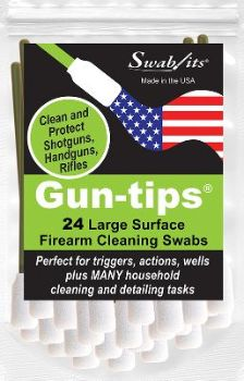 Swab-its® Gun-tips® Now Available at Walmart Stores!