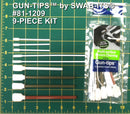 (24 Bag Case) 9-Piece Gun Cleaning Foam Swab Kit of Gun-tips® by Swab-its®: Gun Cleaning Swabs: 81-1209-24-2
