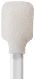 "71-4500: 5.19"" overall length foam swab with wide rectangular foam mitt and polypropylene handle"