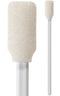 "(Case of 6,000 Swabs) 71-4501: 5.063"" Overall Length Foam Swab with Narrow Rectangular Foam Mitt and Polypropylene Handle"