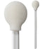 "71-4504: 5.125"" overall length foam swab with circular foam mitt and polypropylene handle"
