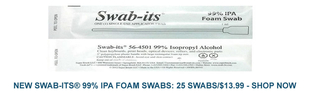 Swab-its 71-4512 sock head cleaning swab