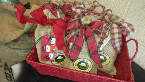 Holiday Coffee Sampler: Three 10 oz. Bags