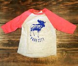 Park City Moose Kids Raglan