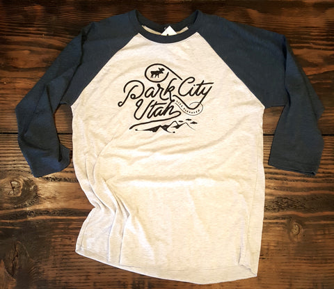 Park City Mountain Doodle Raglan
