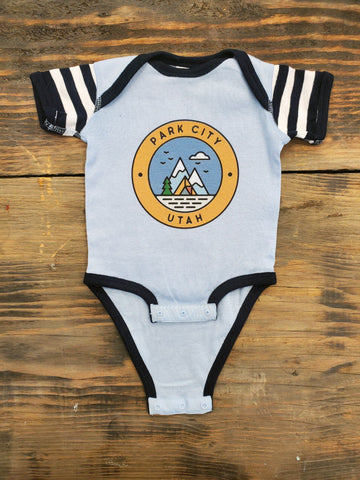 Camp View Onesie